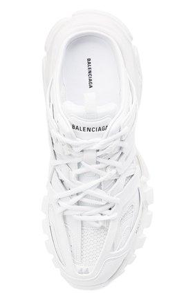 Мужские комбинированные сабо track BALENCIAGA белого цвета, арт. 653814/W3CP3 | Фото 5 (Материал внешний: Текстиль; Стили: Гранж; Материал внутренний: Текстиль)