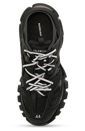 Мужские комбинированные сабо track BALENCIAGA черного цвета, арт. 653814/W3CP3   Фото 5 (Материал внешний: Текстиль; Стили: Гранж; Материал внутренний: Текстиль)