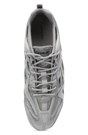 Мужские комбинированные кроссовки drive BALENCIAGA серого цвета, арт. 635498/W3AH1   Фото 5 (Материал внешний: Текстиль; Стили: Гранж; Материал внутренний: Текстиль; Подошва: Плоская)