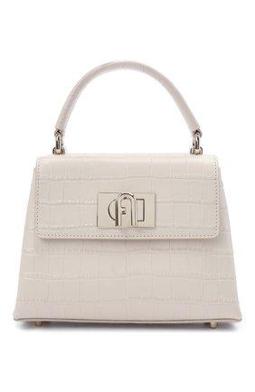 Женская сумка furla 1927 mini FURLA светло-бежевого цвета, арт. WB00109/KO0000   Фото 1