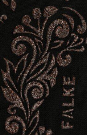 Женские хлопковые носки light cuddle pads FALKE черного цвета, арт. 46585 | Фото 2 (Материал внешний: Хлопок)