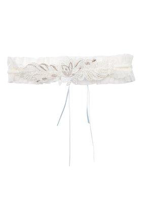 Женские подвязка LISE CHARMEL белого цвета, арт. ACG5062 | Фото 1 (Материал внешний: Синтетический материал)