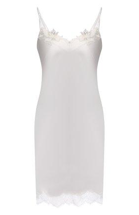 Женская шелковая сорочка LISE CHARMEL белого цвета, арт. ALS1062 | Фото 1