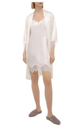 Женская шелковая сорочка LISE CHARMEL белого цвета, арт. ALS1062 | Фото 2