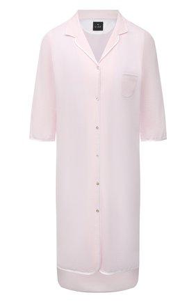 Женская хлопковая сорочка LE CHAT розового цвета, арт. ESSENTIELE05A | Фото 1
