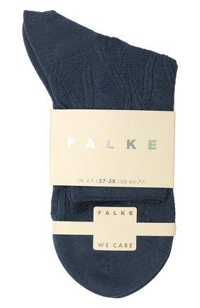 Женские хлопковые носки FALKE темно-серого цвета, арт. 46389 | Фото 1