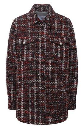 Женская куртка из вискозы SEVEN LAB разноцветного цвета, арт. JSP20 tw red   Фото 1