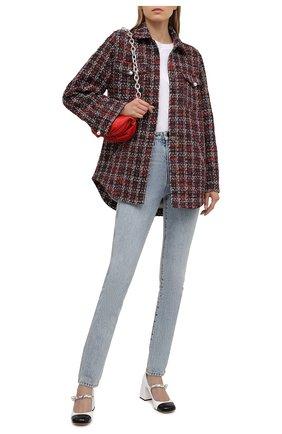 Женская куртка из вискозы SEVEN LAB разноцветного цвета, арт. JSP20 tw red   Фото 2