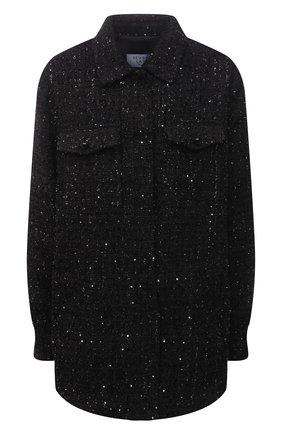 Женская хлопковая куртка SEVEN LAB черного цвета, арт. JSP20 tw 5 NERO | Фото 1