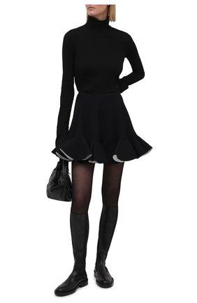 Женская юбка VERSACE черного цвета, арт. A89079/A224249 | Фото 2