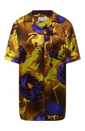 Женская рубашка из вискозы DRIES VAN NOTEN разноцветного цвета, арт. 211-10784-2089   Фото 1