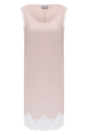 Женская хлопковая сорочка GIANANTONIO PALADINI розового цвета, арт. S150C02/S/6 | Фото 1