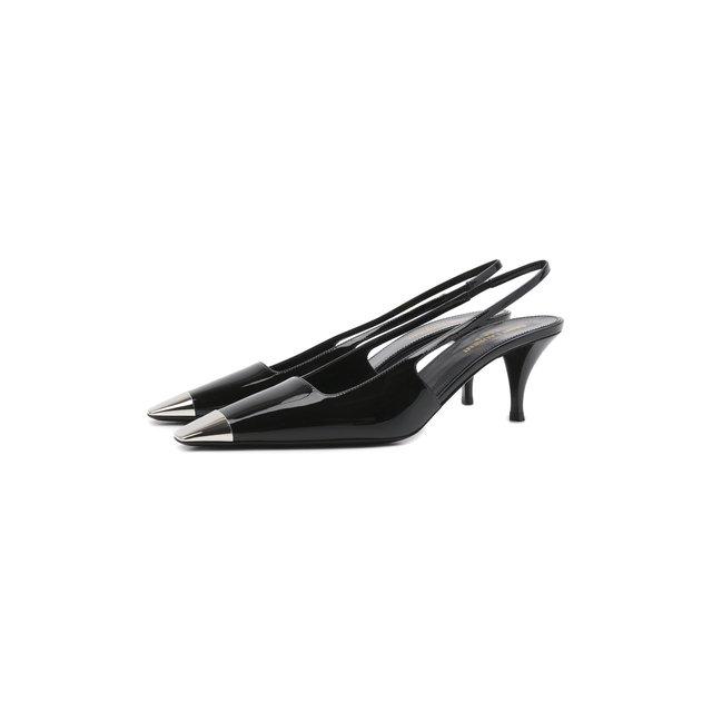 Кожаные туфли Blade Saint Laurent