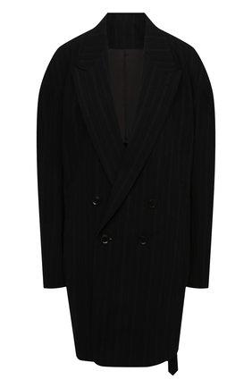 Женский хлопковый жакет Y`S черного цвета, арт. YD-J01-010 | Фото 1