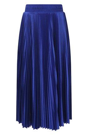 Женская плиссированная юбка BALENCIAGA синего цвета, арт. 659068/TJV20   Фото 1
