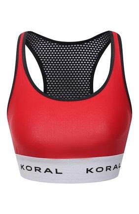 Женский топ KORAL красного цвета, арт. A345S04 | Фото 1