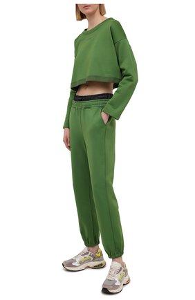 Женские джоггеры KORAL зеленого цвета, арт. A2673F76 | Фото 2