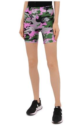 Женские шорты KORAL разноцветного цвета, арт. A2531HQ05   Фото 3 (Женское Кросс-КТ: Шорты-одежда, Шорты-спорт; Длина Ж (юбки, платья, шорты): Мини; Материал внешний: Синтетический материал; Стили: Спорт-шик)