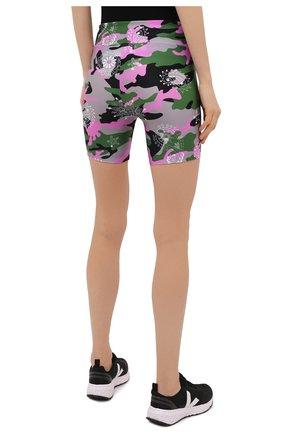 Женские шорты KORAL разноцветного цвета, арт. A2531HQ05   Фото 4 (Женское Кросс-КТ: Шорты-одежда, Шорты-спорт; Длина Ж (юбки, платья, шорты): Мини; Материал внешний: Синтетический материал; Стили: Спорт-шик)