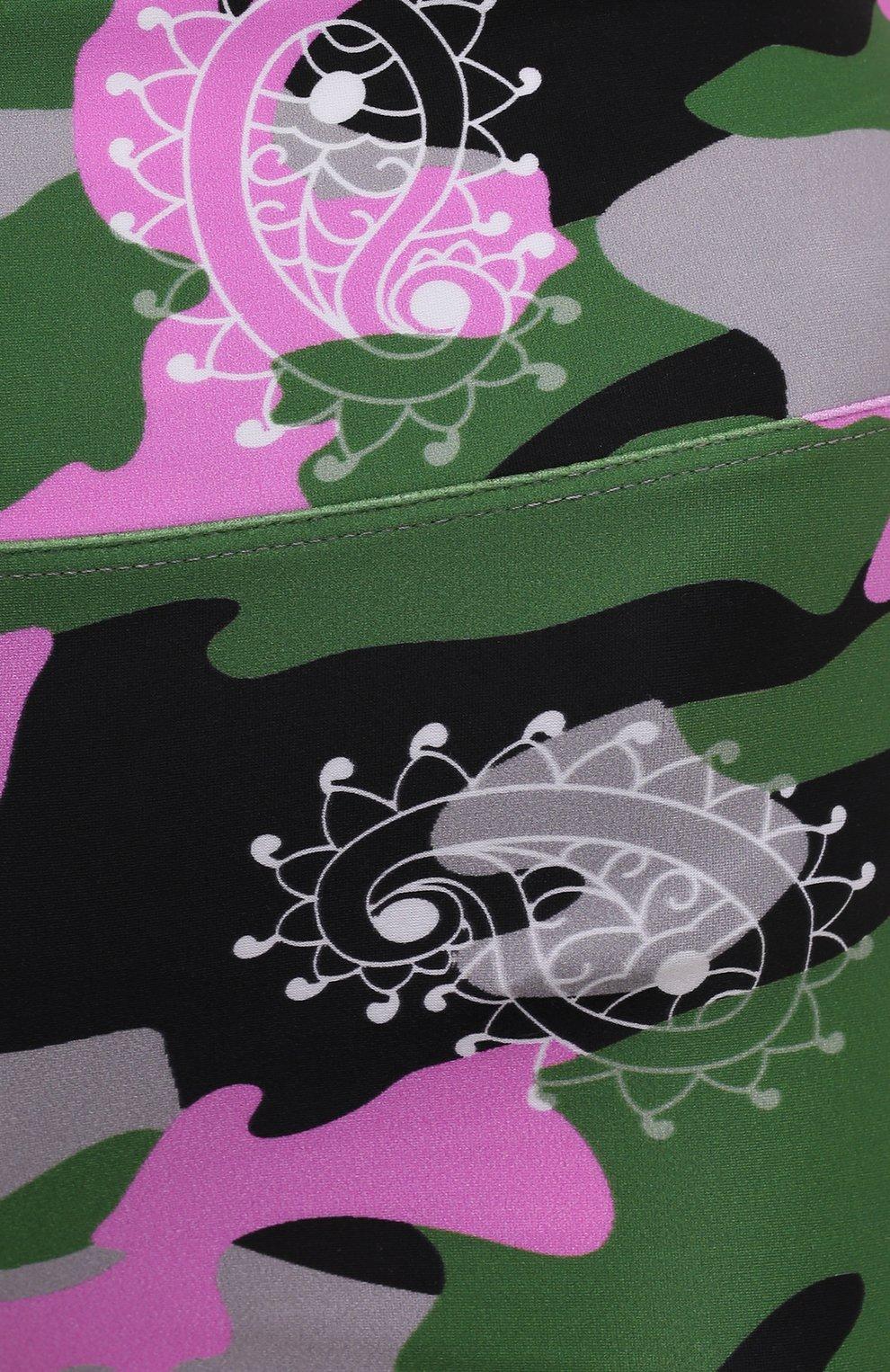 Женские шорты KORAL разноцветного цвета, арт. A2531HQ05   Фото 5 (Женское Кросс-КТ: Шорты-одежда, Шорты-спорт; Длина Ж (юбки, платья, шорты): Мини; Материал внешний: Синтетический материал; Стили: Спорт-шик)