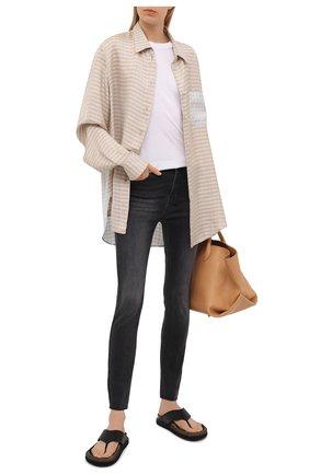 Женские джинсы KSUBI темно-серого цвета, арт. 5000005580   Фото 2