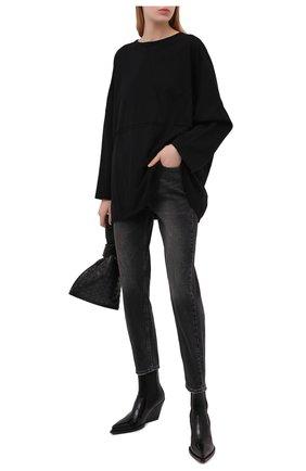 Женские джинсы KSUBI темно-серого цвета, арт. 5000005566   Фото 2
