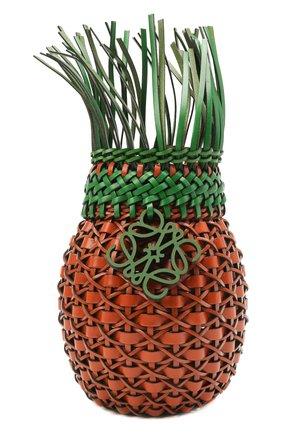 Женская сумка fruit loewe x paula's ibiza LOEWE коричневого цвета, арт. A879P62X01   Фото 1