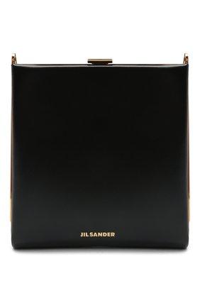 Женская сумка JIL SANDER черного цвета, арт. JSWS856533-WSB00080N | Фото 1