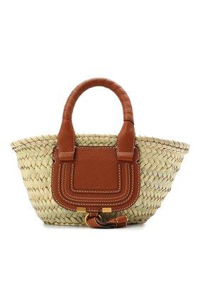 Женский сумка marcie small CHLOÉ коричневого цвета, арт. CHC21US832C97 | Фото 1