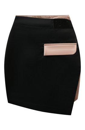 Женская юбка-шорты P.E. NATION черного цвета, арт. 21PE1Q039 | Фото 1