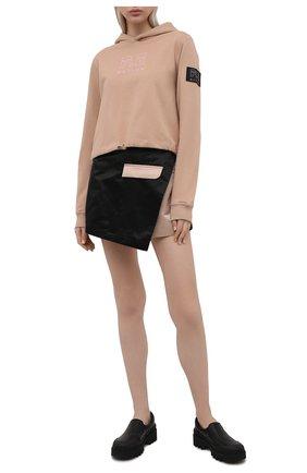 Женская юбка-шорты P.E. NATION черного цвета, арт. 21PE1Q039 | Фото 2