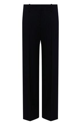Женские шерстяные брюки WINDSOR темно-синего цвета, арт. 52 DHE503 10011410 | Фото 1