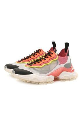 Женские комбинированные кроссовки leave no trace MONCLER разноцветного цвета, арт. G1-09B-4M724-00-02SR3 | Фото 1