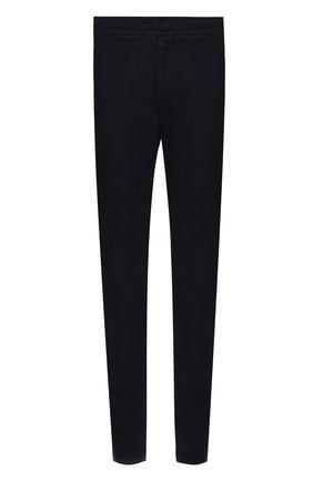 Мужские брюки из хлопка и льна BOGNER темно-синего цвета, арт. 18093838 | Фото 1 (Длина (брюки, джинсы): Стандартные; Силуэт М (брюки): Чиносы; Мужское Кросс-КТ: Брюки-трикотаж; Материал внешний: Лен, Хлопок; Стили: Кэжуэл; Случай: Повседневный)