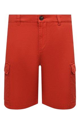 Мужские шорты BRUNELLO CUCINELLI красного цвета, арт. M289LV0310   Фото 1
