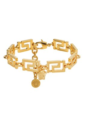 Женский браслет VERSACE золотого цвета, арт. DG07719/DJMT | Фото 1