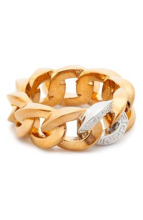 Женское кольцо medusa chain VERSACE золотого цвета, арт. DG5I020/DJMT | Фото 1 (Материал: Металл)