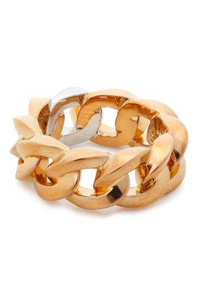 Женское кольцо medusa chain VERSACE золотого цвета, арт. DG5I020/DJMT | Фото 2 (Материал: Металл)