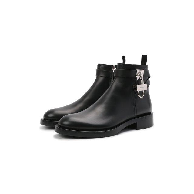 Кожаные сапоги Givenchy