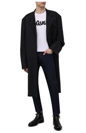 Мужские кожаные сапоги GIVENCHY черного цвета, арт. BH6031H0VL | Фото 2