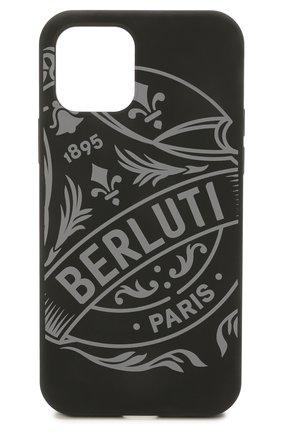 Чехол для iphone 12 pro BERLUTI черного цвета, арт. X224547   Фото 1