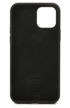 Чехол для iphone 12 pro BERLUTI черного цвета, арт. X224547   Фото 2