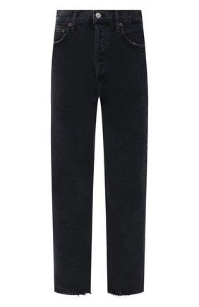 Женские джинсы AGOLDE черного цвета, арт. A154B-1207 | Фото 1
