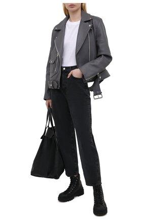 Женские джинсы AGOLDE черного цвета, арт. A158-1207 | Фото 2