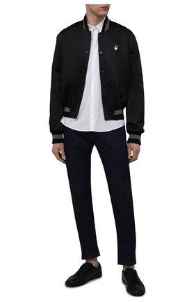 Мужская хлопковая рубашка COMME DES FUCKDOWN белого цвета, арт. CDFU1198 | Фото 2