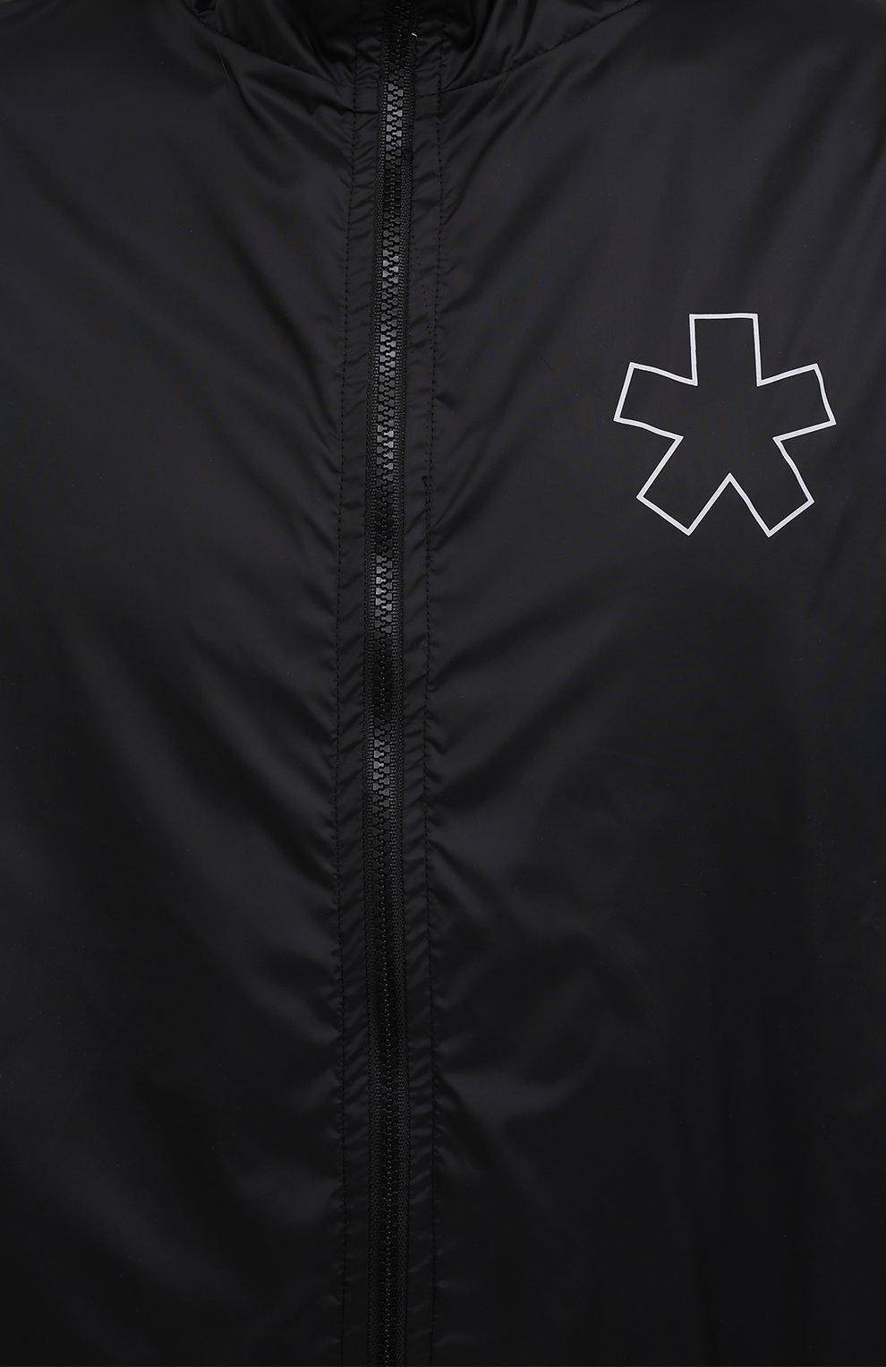Мужской бомбер COMME DES FUCKDOWN черного цвета, арт. CDFU1159 | Фото 5 (Кросс-КТ: Куртка; Рукава: Длинные; Материал внешний: Синтетический материал; Принт: С принтом; Стили: Спорт-шик; Мужское Кросс-КТ: Куртка-верхняя одежда; Длина (верхняя одежда): Короткие)
