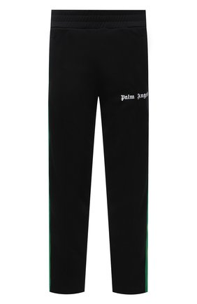Мужские брюки PALM ANGELS черного цвета, арт. PMCA007S21FAB0061001 | Фото 1