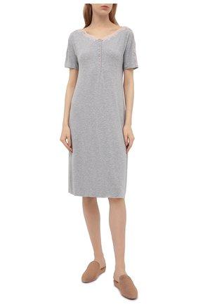 Женская сорочка GIANANTONIO PALADINI серого цвета, арт. S15PC07/M | Фото 2