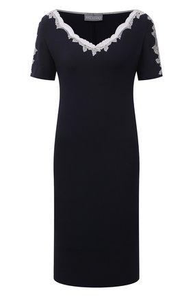 Женская сорочка GIANANTONIO PALADINI темно-синего цвета, арт. S15PC06/M   Фото 1