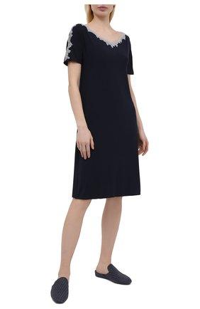 Женская сорочка GIANANTONIO PALADINI темно-синего цвета, арт. S15PC06/M   Фото 2